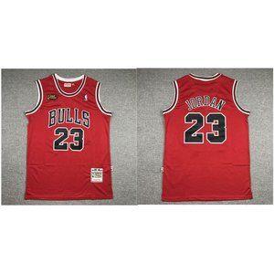 Chicago Bulls Michael Jordan 97-98 Red Jersey